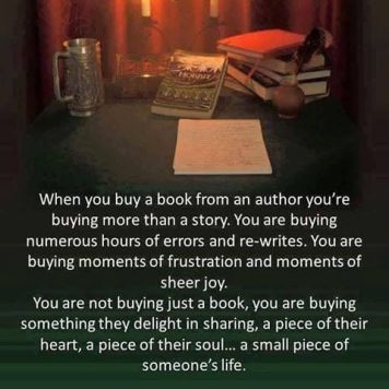 buying a book